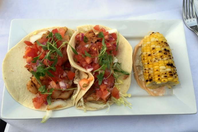 photo of fish tacos from 88 Wharf, Milton, MA