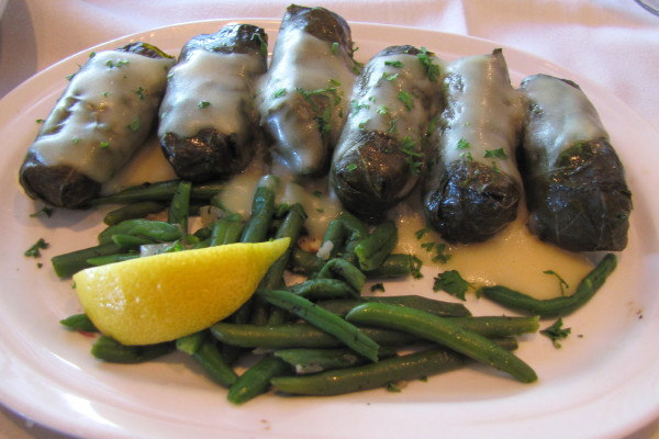 Photo Stuffed Grape Leaves From The Aegean Watertown Ma