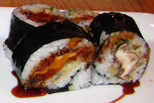 photo of shiitake mushroom tempura maki from Aji, Newton, MA