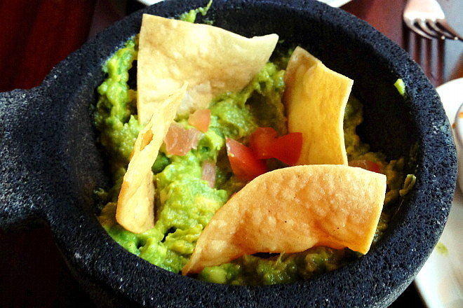 photo of guacamole from Angela's Cafe, East Boston, MA (from hiddenboston.com)