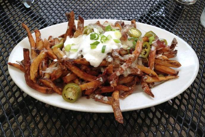 photo of Train Wreck Fries from the Ashmont Grill, Dorchester, MA