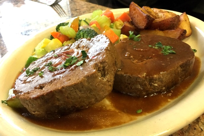 photo of meatloaf from Avellino's, Medford, MA