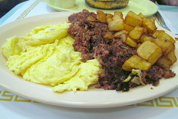 photo of breakfast plate from Barry's Village Deli, Waban, MA