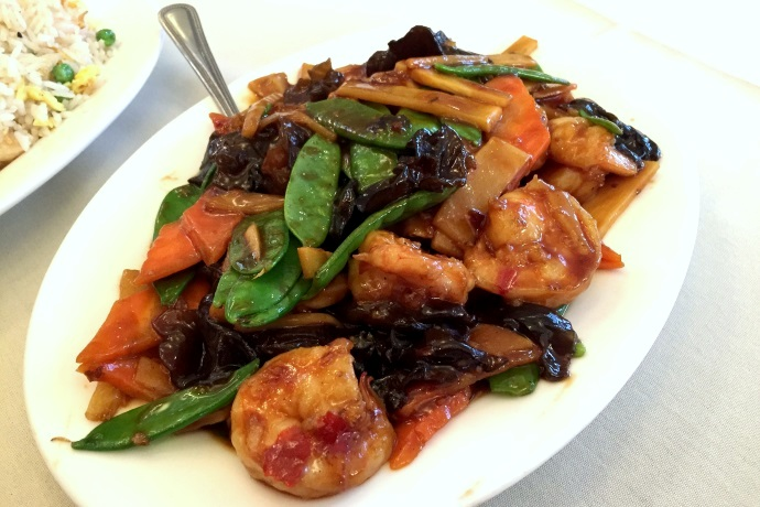 photo of shrimp in garlic sauce from Beijing, Lexington, MA