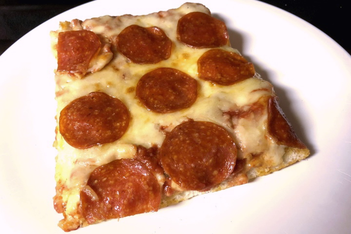 photo of pepperoni pizza from Bob's Italian Foods, Medford, MA