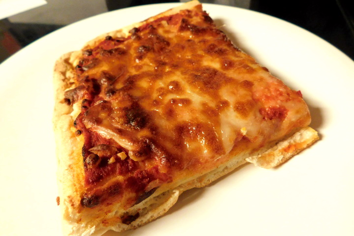 photo of Sicilian bakery pizza from Bob's Italian Foods, Medford, MA
