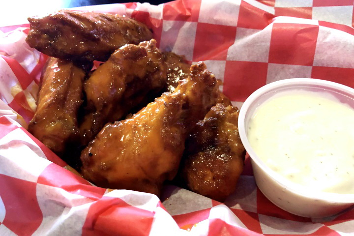 photo of wings from Braintree Brewhouse, Braintree, MA