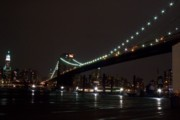 photo of the Brooklyn Bridge from Brooklyn, New York