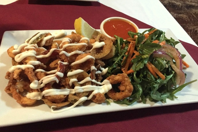 photo of calamari from Brothers Restaurant, Brookline, MA