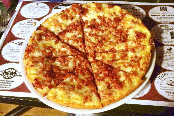 photo of linguica pizza from Buddy's Union Villa, Easton, MA