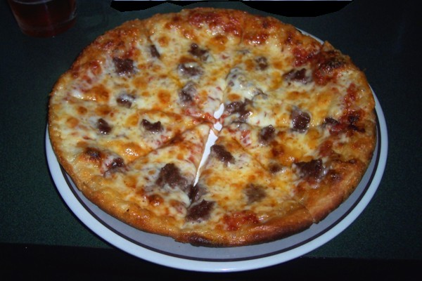 photo of bar pizza at Buddy's Union Villa, North Easton, MA