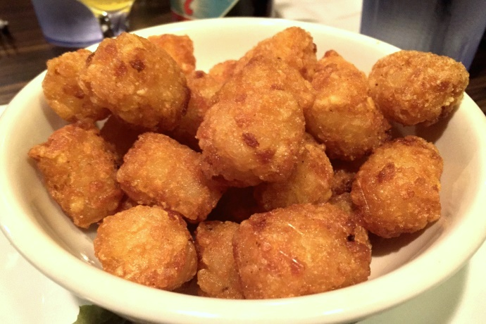 photo of tater tots from Cagney's, Quincy, MA