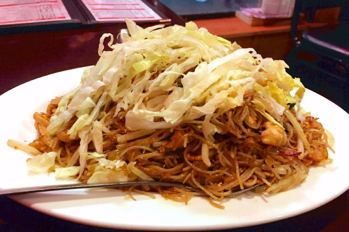 photo of Singapore rice noodles from China King, Boston, MA
