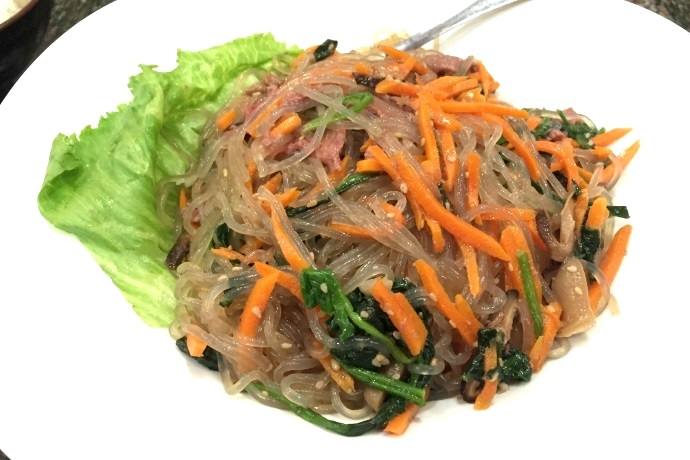 photo of Japchae from Cho Cho's, Cambridge, MA