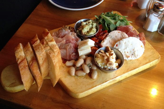 photo of antipasto from City Girl Cafe, Cambridge, MA