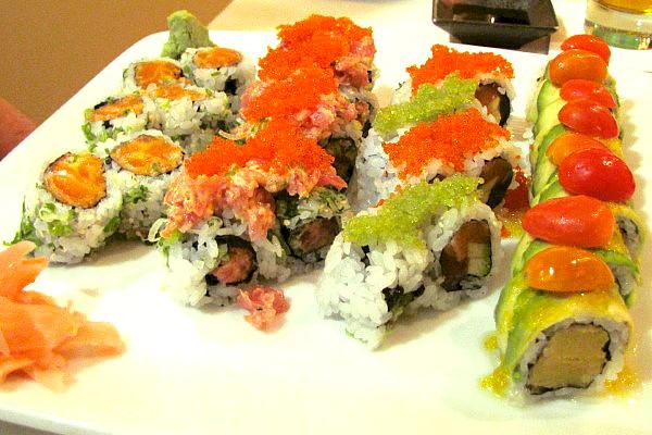 Photo Sushi Plate From Daikanyama Lexington Ma Boston S