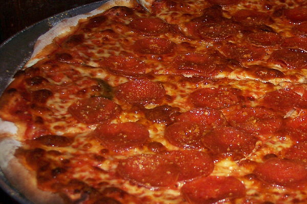 photo of pizza from Denly's, Weymouth, MA