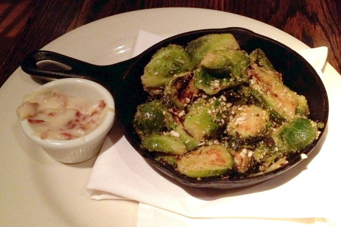 photo of Crispy Brussels Sprouts from the Dogwood Cafe, Jamaica Plain, MA