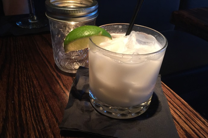 photo of Coconut Margarita from the Dogwood Cafe, Jamaica Plain, MA