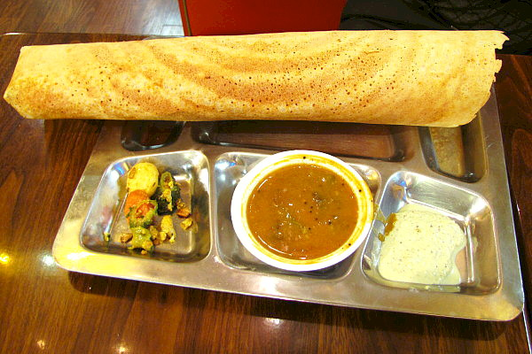 photo of dosa from Dosa Factory, Cambridge, MA