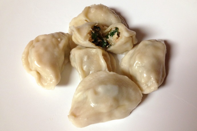 photo of pork and chive dumplings from Dumpling Daughter, Weston, MA