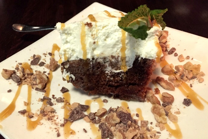 photo of carrot cake from The Fairmount Grille, Hyde Park, MA