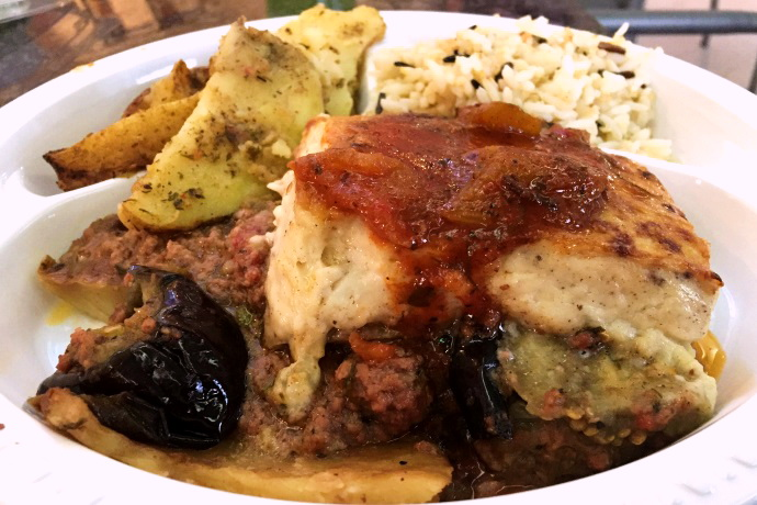 photo of moussaka from Farm Grill and Rotisserie, Newton, MA