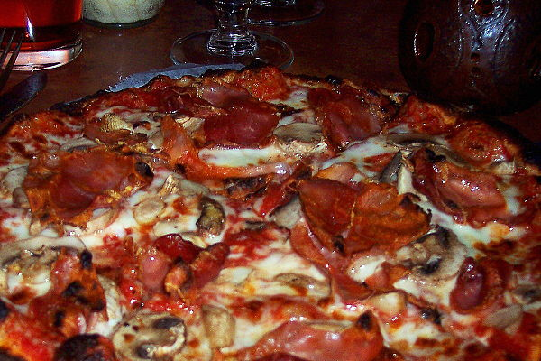 photo of pizza from Fiorella's, Newton, MA