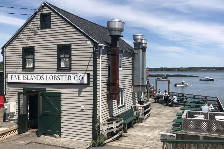 Photo of Five Islands Lobster Co. in Georgetown, ME