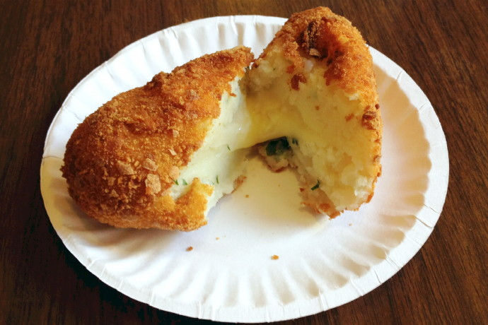 photo of Panzerotti from Galleria Umberto, Boston, MA