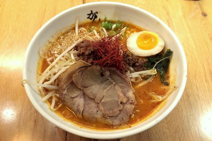 photo of miso ramen from Ganko Ittetsu Ramen, Brookline, MA