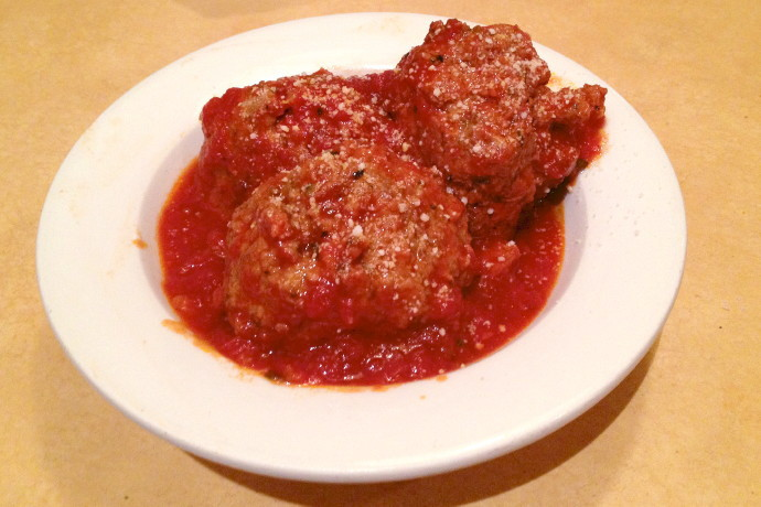 photo of meatballs from Gennaro's Eatery, Quincy, MA