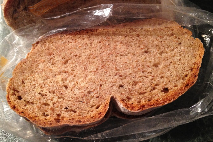 photo of brown bread from Greenhills Irish Bakery, Dorchester, MA