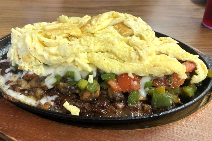 photo of country hash special from The Grill and Eye, Weymouth, MA