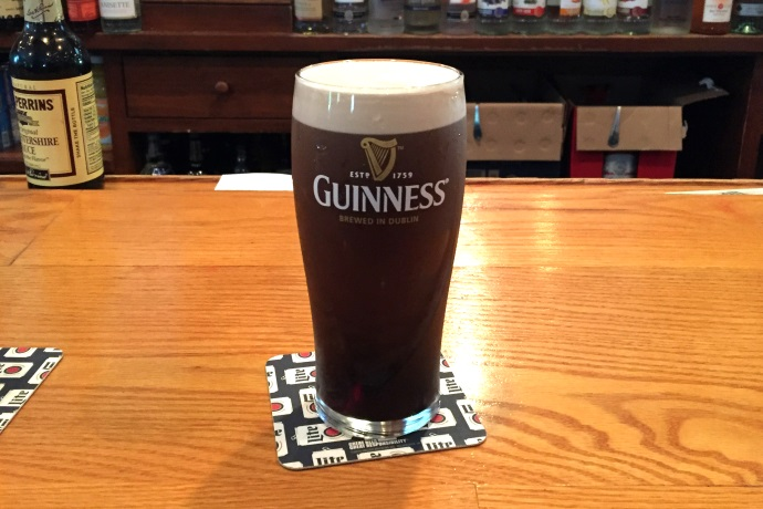 photo of Guinness Stout from the Hillside Pub, Canton, MA