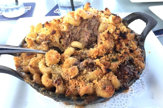 photo of short rib macaroni and cheese from the Inn at Bay Pointe, Quincy, MA