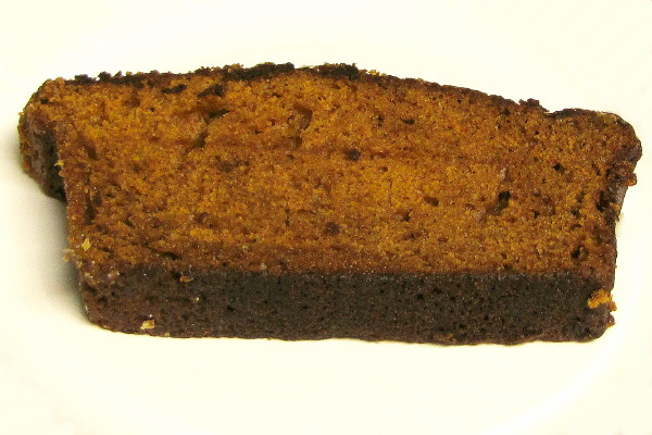 photo of pumpkin spice bread from Inna's Kitchen, Newton, MA