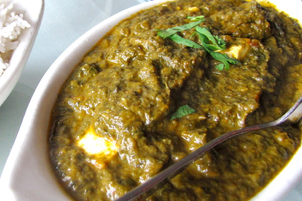 photo of saag paneer from Kashish, Belmont, MA