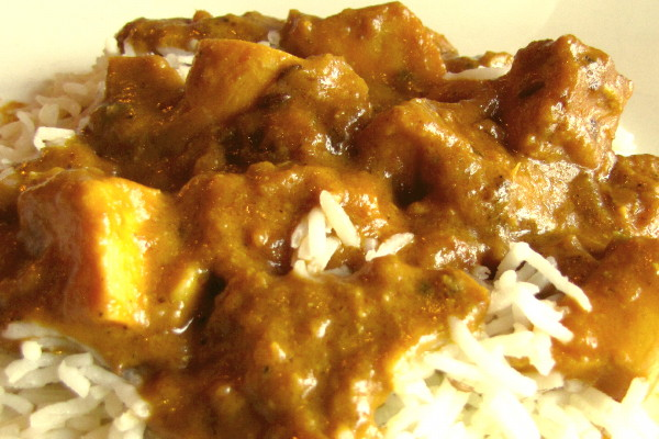 photo of chicken korma from Kebab Factory, Somerville, MA
