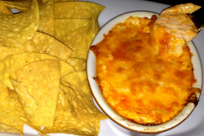 photo of buffalo chicken dip from Kelleher's Bar and Grille, Roslindale, MA