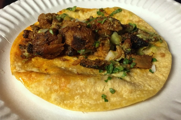 photo of Tacos Al Pastor from La Victoria Taqueria, Arlington, MA