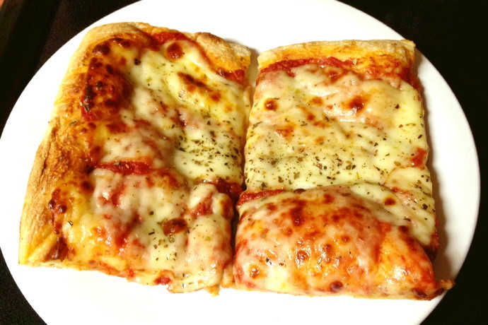 photo of Sicilian pizza from Leone's Sub and Pizza, Somerville, MA