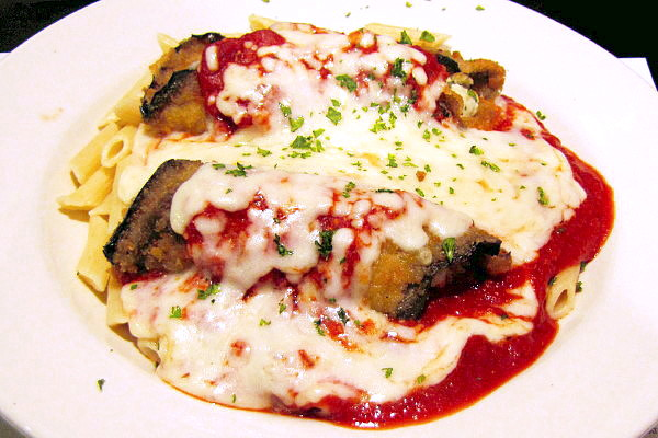 photo of eggplant rollatini from Louis, Quincy, MA