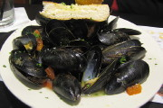 photo of mussels from Louis, Quincy, MA