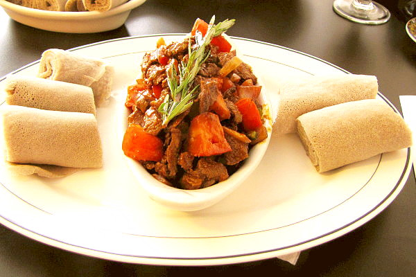 photo of Lega Tibs from Lucy Ethiopian Cafe, Boston, MA