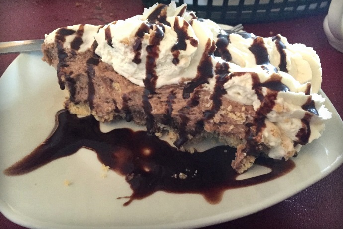 photo of chocolate peanut butter pie from Massimo's Ristorante, Wakefield, MA