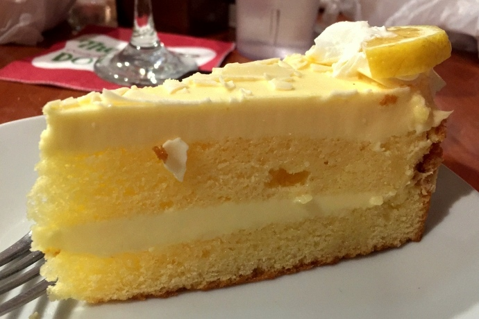 photo of lemon mascarpone cake from Massimo's Ristorante, Wakefield, MA