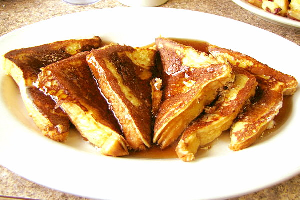 photo of French toast from McKay's Breakfast and Lunch, Quincy, MA