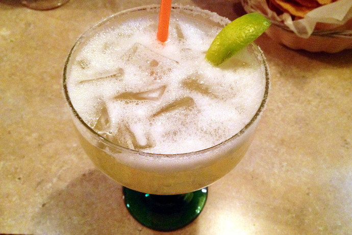 photo of a margarita from Mexico Lindo, Melrose, MA
