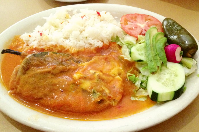 photo of chiles rellenos de queso from Mi Pueblito, East Boston, MA (from hiddenboston.com)